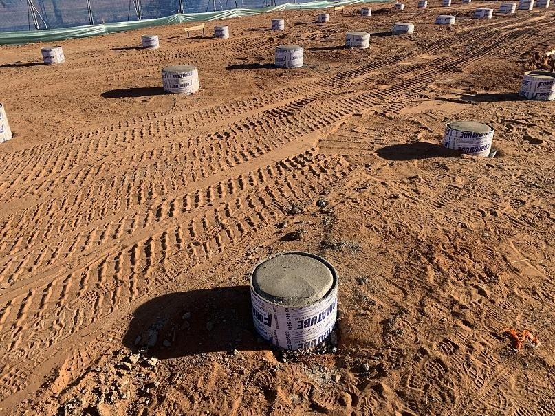 Wellbeing Centre - footings laid